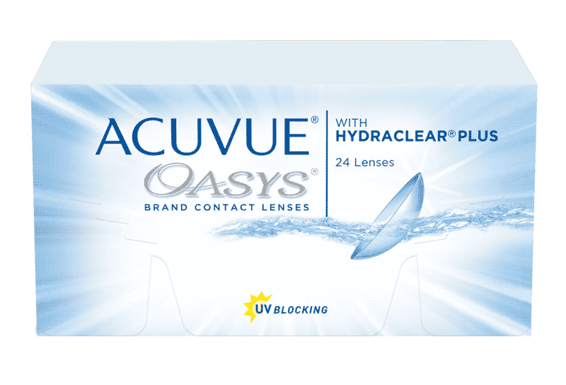 ACUVUE OASYS® with HYDRACLEAR® PLUS Technology