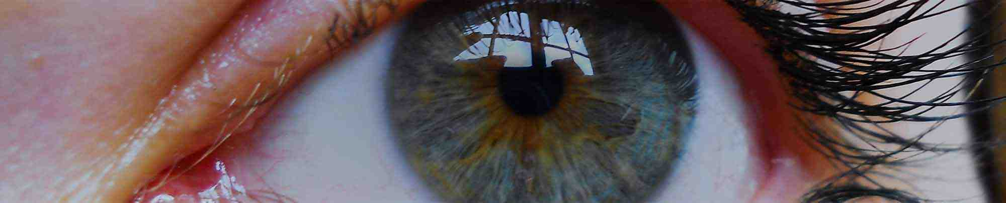 Nahaufnahme eines Auges